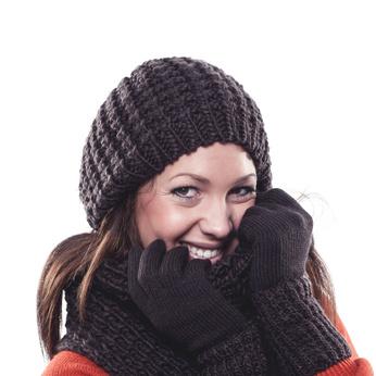trendige winter outfits selber stricken. Black Bedroom Furniture Sets. Home Design Ideas
