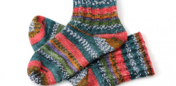 Kreatives Socken stricken